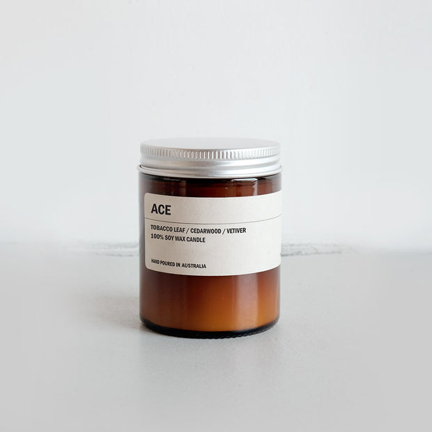 150g Amber Soy Candle - ACE