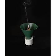 Void Incense Burner - Forest Green
