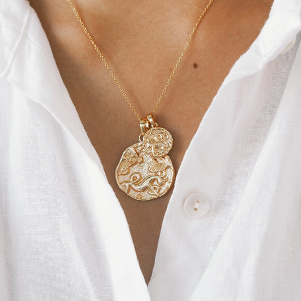 Aries Necklace - Gold Fill - Prae Store