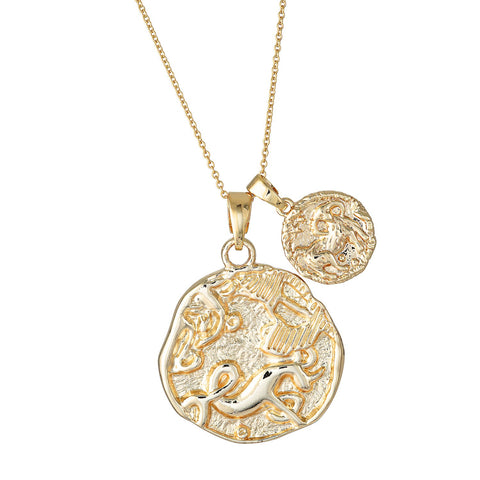 Aries Necklace - Gold Fill