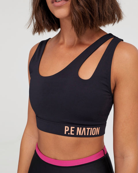 Basket Cut Sports Bra - Prae Store