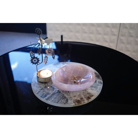 Rose Quartz Bowl - Extra Small