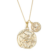 Capricorn Necklace - Gold Fill - Prae Store