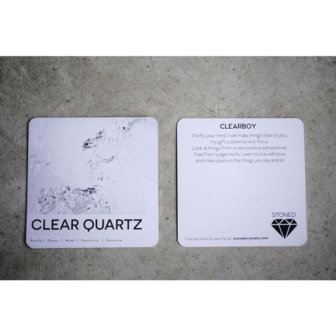 Clear Boy - Clear Quartz