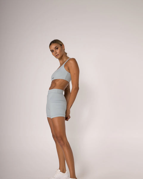 The Midi Short - Blue Fog - Prae Store