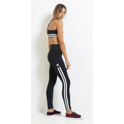 Falcon Full Length Compression Legging - Black