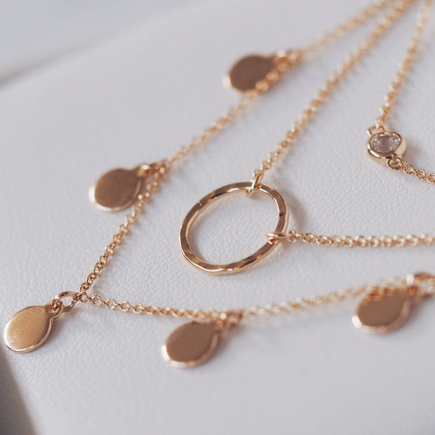 Infinite Choker - Gold Fill