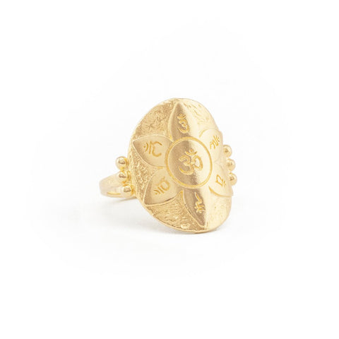 Gold Large Eternal Harmony Ring