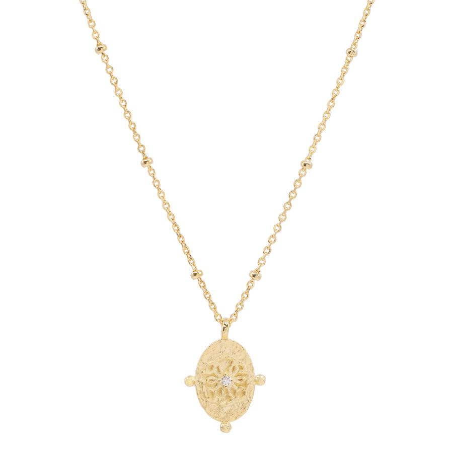 Gold Path of Life Necklace - Prae Store