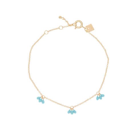Gold Turquoise Ocean Dream Bracelet