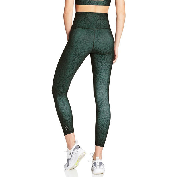 High Rise 7/8 Leggings - Forest Green Pebble