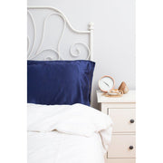 Silk Pillowcase - Twin Set - Navy