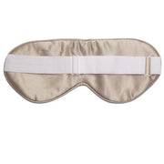 Silk Sleep Mask - Shimmering Nude