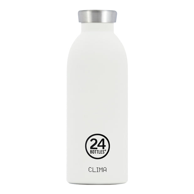500ml Clima Bottle - Ice White
