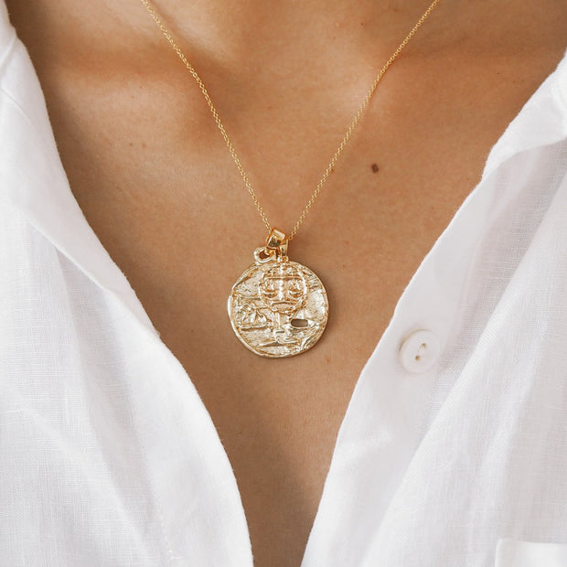 Libra Necklace - Gold Fill