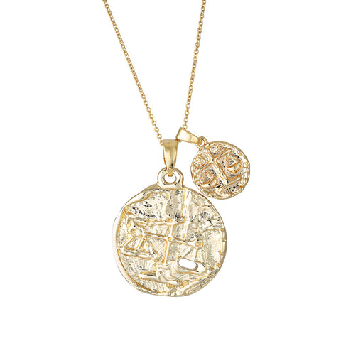 Libra Necklace - Gold Fill - Prae Store