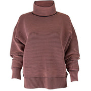 Retro Rib Sweater - Blush Black