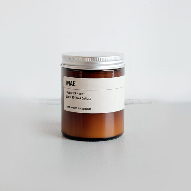 150g Amber Soy Candle - MAE