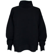 Retro Rib Sweater - Black Charcoal