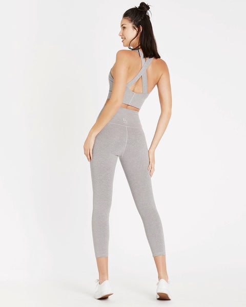 Studio High Rise Tight - Grey Speckle