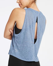 Make Me Groove Tank - Powder Blue - Prae Store