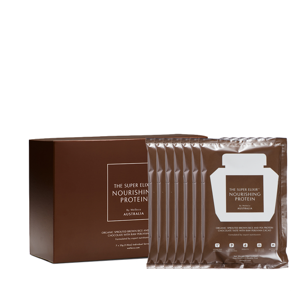 Nourishing Plant Protein - Cacao - Travel Sachets Box