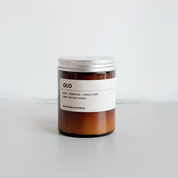 150g Amber Soy Candle - OUD