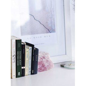 Rose Quartz Bookends