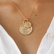 Pisces Necklace - Gold Fill