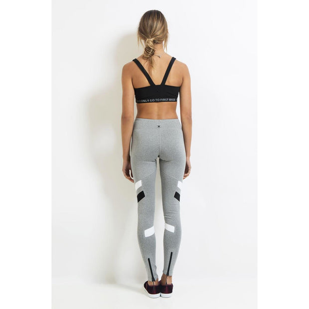 Replay Full Length Compression Legging - Ash