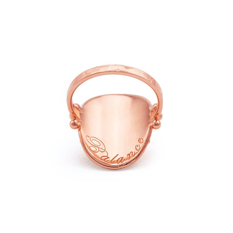 Rose Gold Large Eternal Harmony Ring