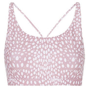 Flow Freely Sports Bra - Blush Cheetah