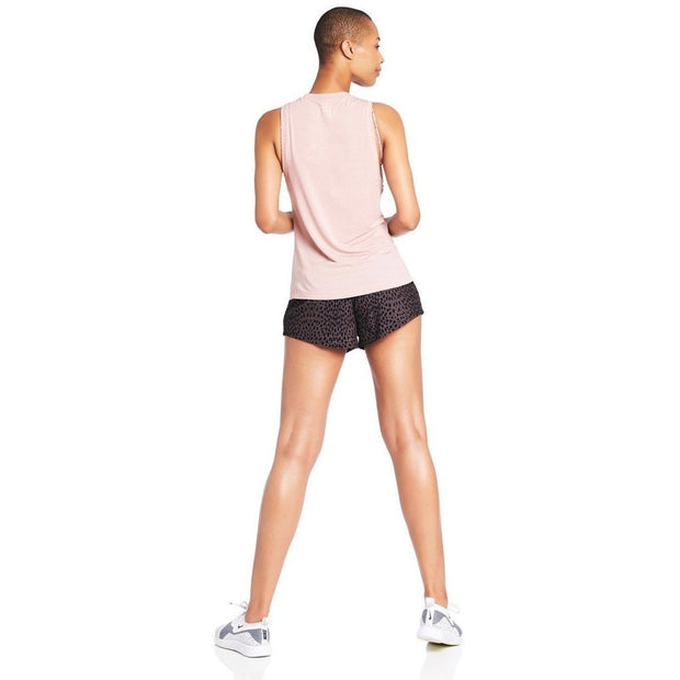 Endurance Run Short - Mauve Cheetah