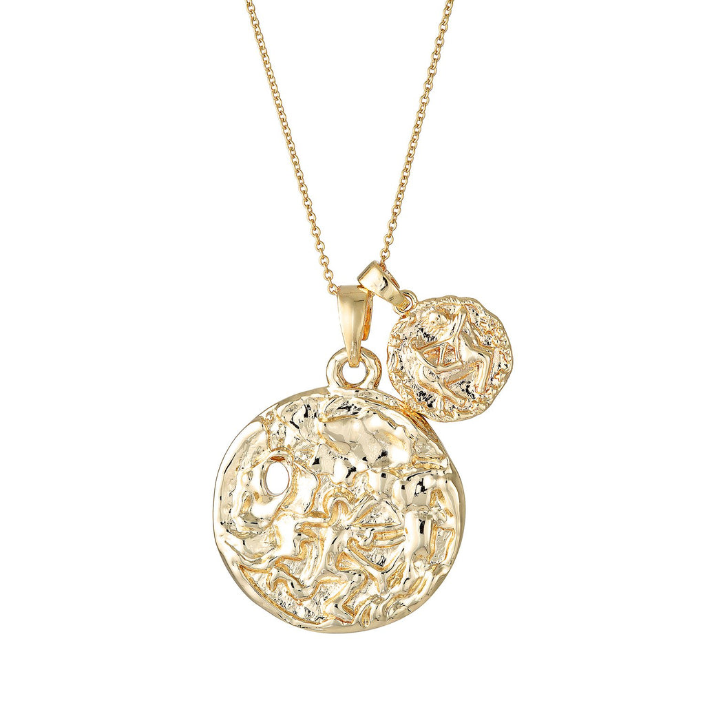 Sagittarius Necklace - Gold Fill - Prae Store
