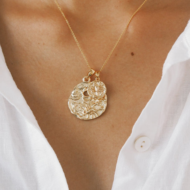 8044b9a51 Scorpio Necklace - Gold Fill