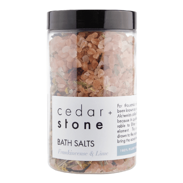 Frankincense and Lime Bath Salts