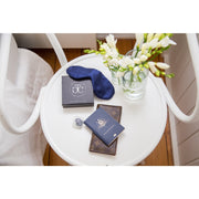 Silk Eye Mask - Navy