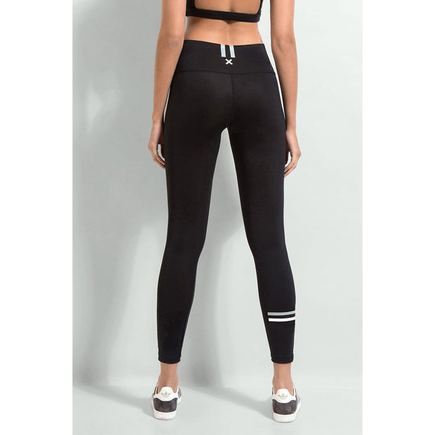 The Zone Full Length Compression Legging - Black