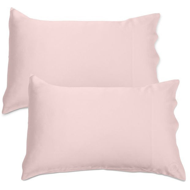 Silk Pillowcase - Twin Set - Pink