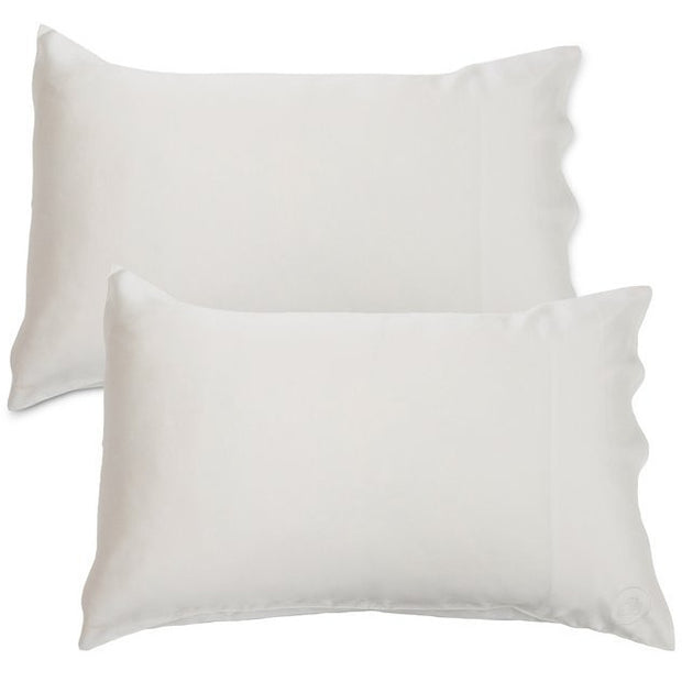 Silk Pillowcase - Twin Set - Natural White