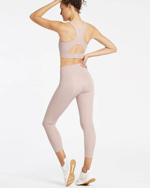 Dynamic Long Line Bra - Blush Pink - Prae Store
