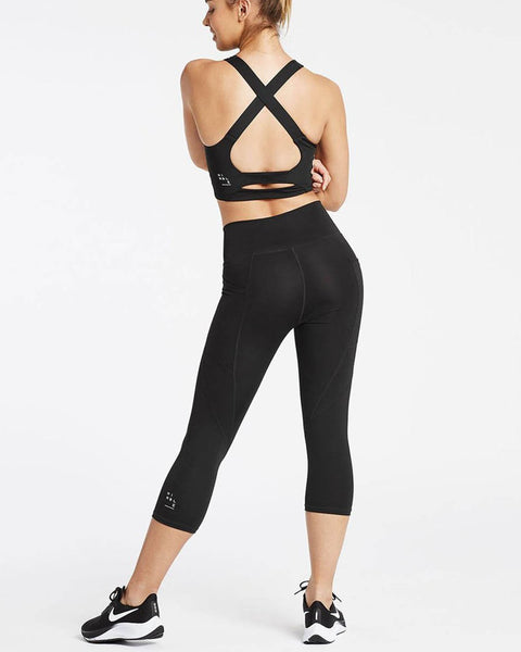 One More Rep 3/4 Tight - Black - Prae Store