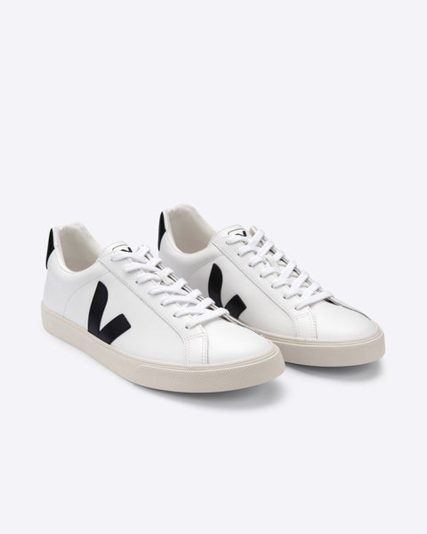Veja - Esplar Leather Extra White Black - Prae Store