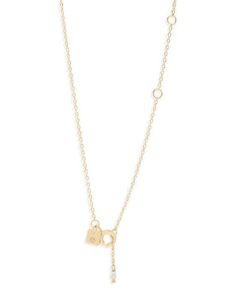Gold Dream Weaver Necklace - Prae Store