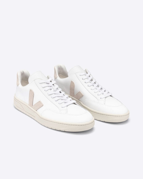 Veja - V-12 Leather Extra-White Sable - Prae Store