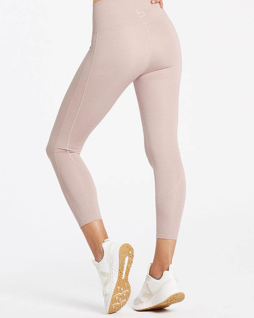 Dynamic 7/8 Legging - Blush Pink - Prae Store