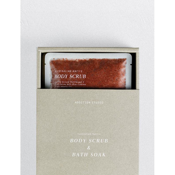 Australian Native Body Scrub & Bath Soak - 2 Pack - Prae Store