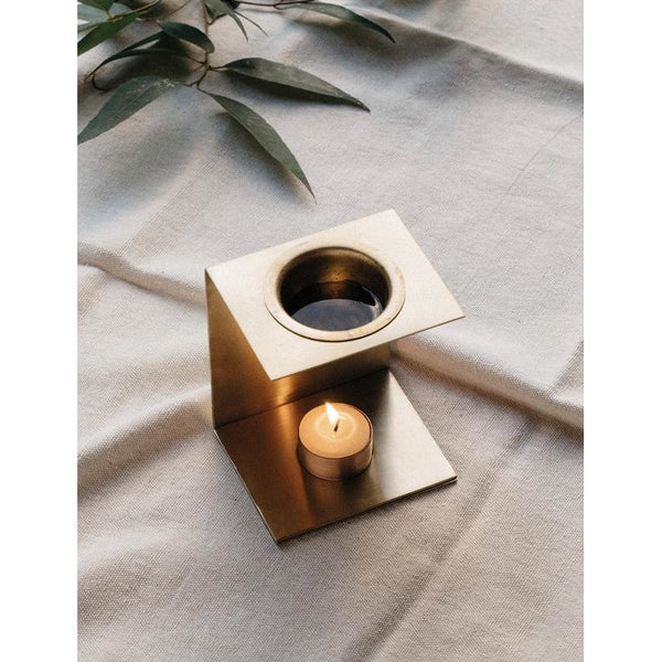 Brass Essential Oil Burner - Prae Store
