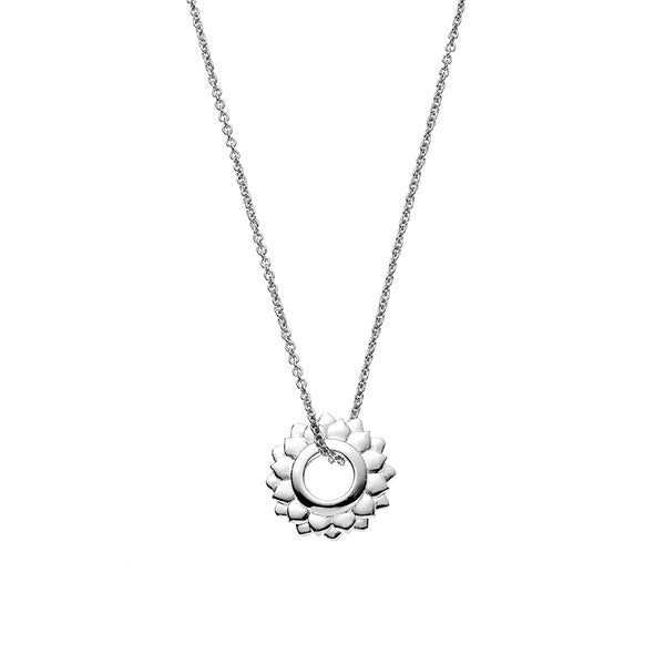 Crown Chakra Necklace - Silver