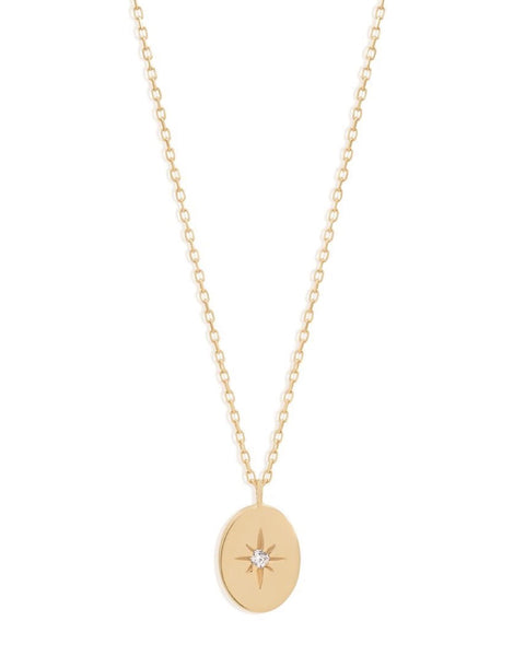 14k Gold Shine Your Light Necklace - Prae Store